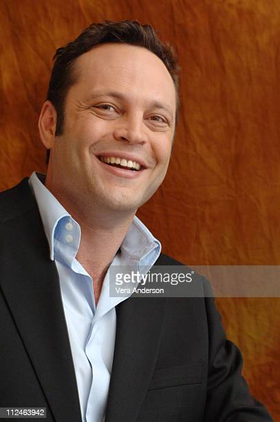 """Vince Vaughn during """"The Break-Up"""" Press Conference with Jennifer Aniston and Vince Vaughn at Shutters at the Beach in Santa Monica, California,..."""