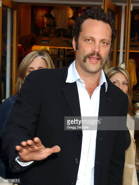 """Vince Vaughn during The World Premiere Of """"2 Fast 2 Furious"""" - Arrivals at Universal Amphitheatre in Universal City, California, United States."""
