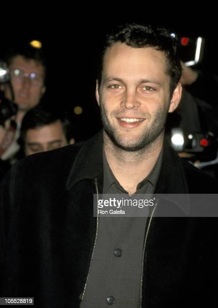 Vince Vaughn during 'Very Bad Things' New York City Screening November 16 1998 at Chelsea Cinemas in New York City New York United States