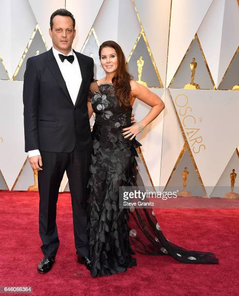 Vince Vaughn Kyla Weber arrives at the 89th Annual Academy Awards at Hollywood Highland Center on February 26 2017 in Hollywood California