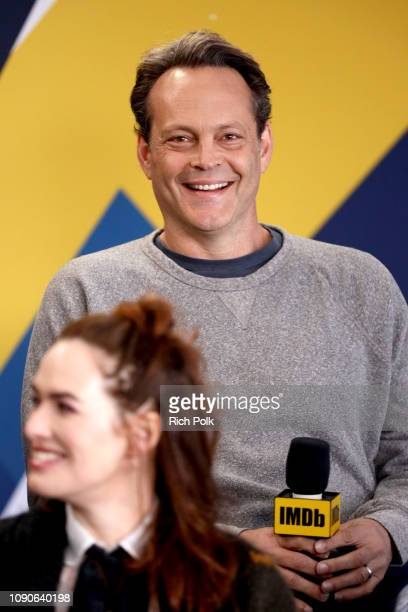 Vince Vaughn of 'Fighting with My Family' attends The IMDb Studio at Acura Festival Village on location at The 2019 Sundance Film Festival - Day 4 on...
