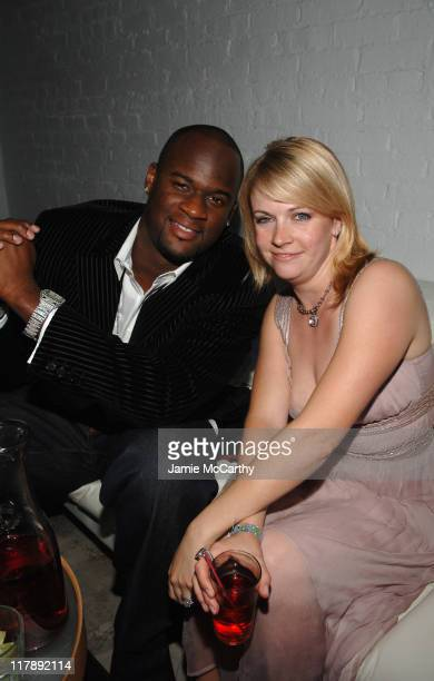 Vince Young and Melissa Joan Hart during 133rd Kentucky Derby Polaroid Presents The Stuff Magazine VIP Issue Party At The Kentucky Derby in...
