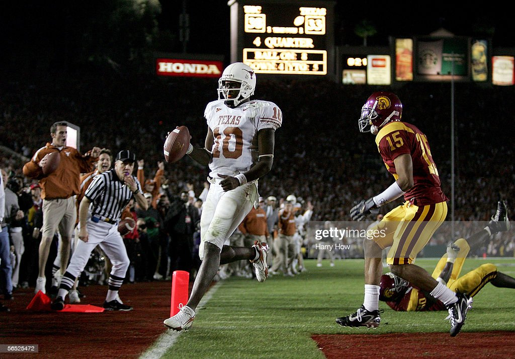 National Championship Rose Bowl: USC v Texas : News Photo