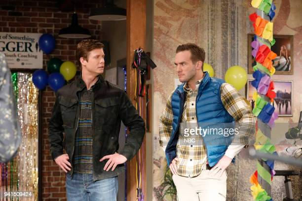 CHAMPIONS 'Vincemas' Episode 105 Pictured Anders Holm as Vince Andy Favreau as Matthew