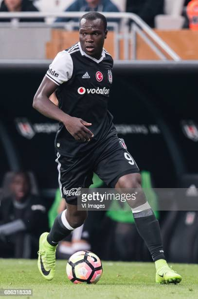 Vincent Aboubakar of Besiktas JKduring the Turkish Spor Toto Super Lig football match between Besiktas JK and Kasimpasa AS on May 20 2017 at the...