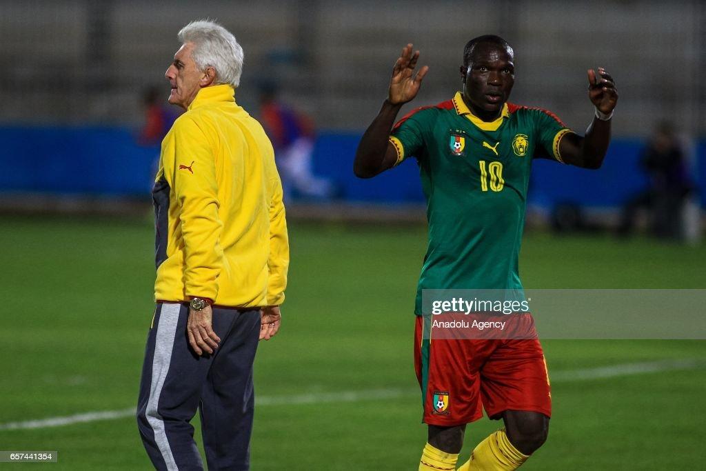 Tunisia vs Cameroon - Friendly match : News Photo