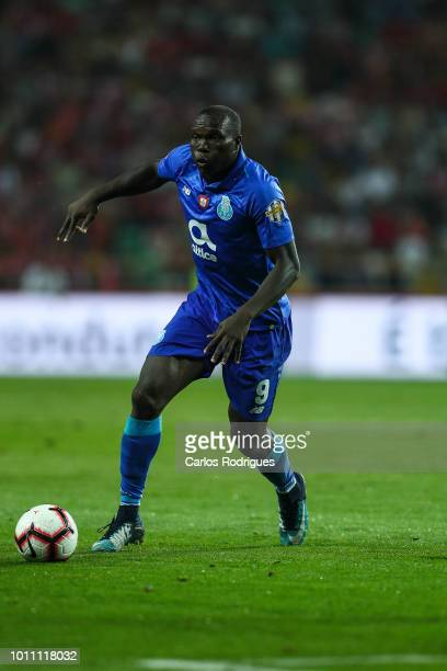 Vincent Aboubakar of FC Porto during the match between FC Porto and Desportivo das Aves for the Portuguese Super Cup at Estadio Municipal de Aveiro...