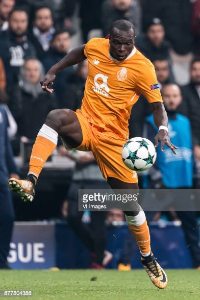 Vincent Aboubakar of FC Porto during the UEFA Champions League group G match between Besiktas JK and FC Porto on November 21 2017 at the Vodafone...