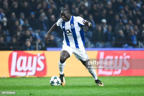 Vincent Aboubakar of Porto during the Uefa Champions League match between Fc Porto and As Monaco at Estadio do Dragao on December 6 2017 in Porto...