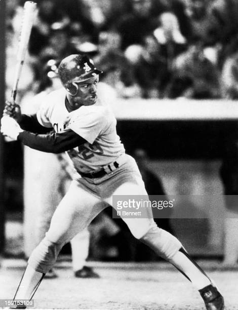 Vincent 'Bo' Jackson of the Auburn Tigers bats during an NCAA game circa 1983