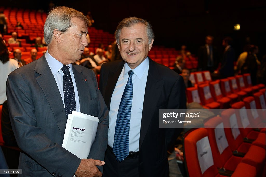 Vivendi's General Meeting In Paris