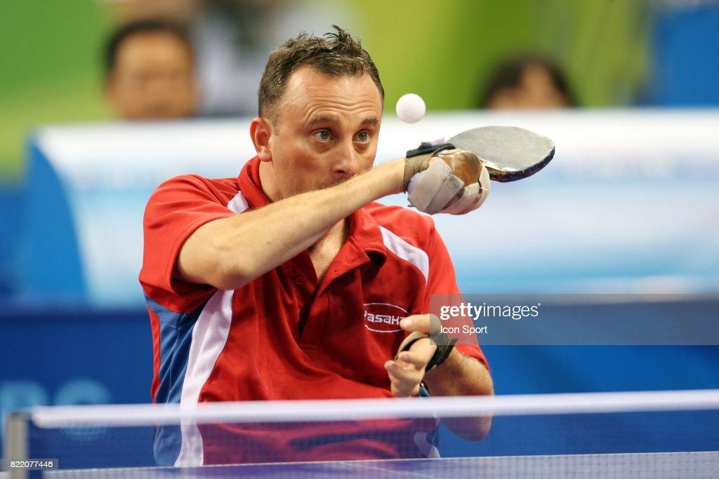 Vincent Boury Tennis De Table Jeux Paralympiques De Pekin