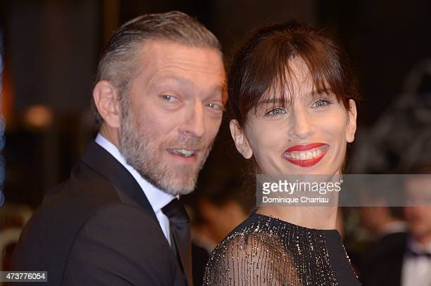 Vincent Cassel and Maiwenn attend 'Mon Roi' Premiere during the 68th annual Cannes Film Festival on May 17 2015 in Cannes France