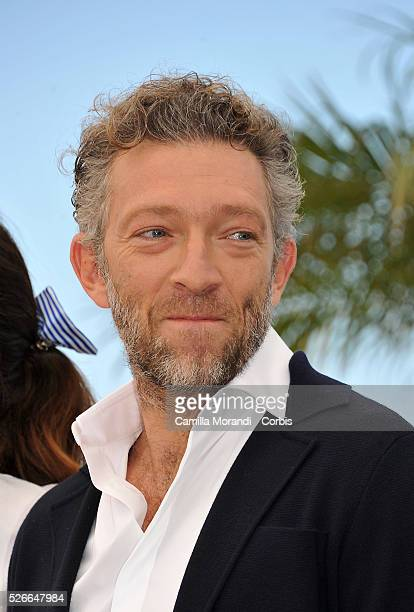 """Vincent Cassel at the photocall of """" Mon Roi"""" at the 68th Cannes International Film Festival in Cannes, France."""