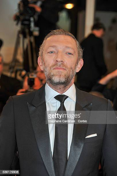 """Vincent Cassel attends at the """"Mon Roi"""" Premiere during the 68th Cannes Film Festival"""