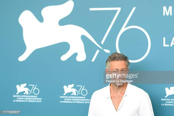 """Vincent Cassel attends """"Irreversible"""" photocall during the 76th Venice Film Festival at Sala Grande on August 31, 2019 in Venice, Italy."""