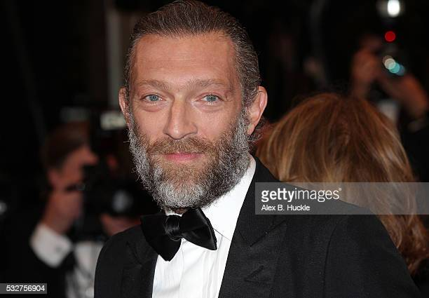 Vincent Cassel attends the 'It's Only The End Of The World ' Premiere during the 69th annual Cannes Film Festival at the Palais des Festivals on May...