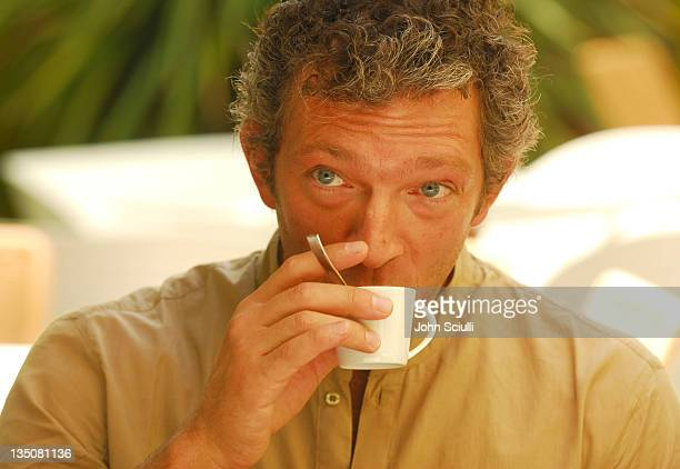 Vincent Cassel during 2006 Cannes Film Festival - Opening Ceremony - Photocall at Canal Plus Tent in Cannes, France.