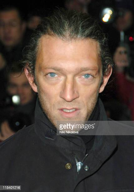 Vincent Cassel during 'Derailed' London Premiere Arrivals at Curzon Mayfair in London Great Britain