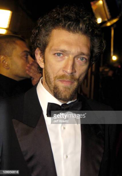Vincent Cassel during Ocean's Twelve Los Angeles Premiere Arrivals at Grauman's Chineese Theater in Los Angeles California United States