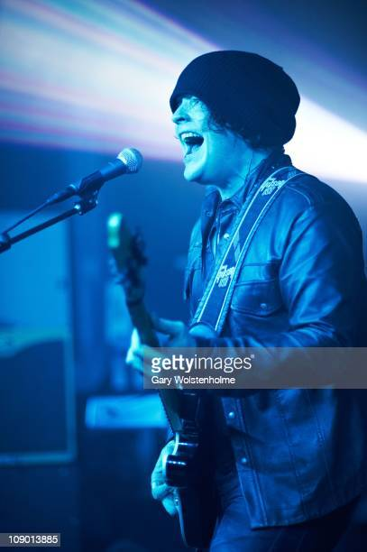 Vincent Cavanagh of Anathema performs on stage at O2 Academy on February 11, 2011 in Sheffield, England.