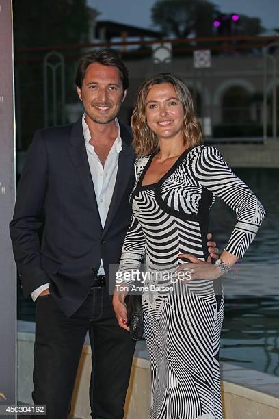 Vincent Cerutti and Sandrine Quetier attend Gala at the Monte Carlo Beach Hotel on June 8 2014 in MonteCarlo Monaco