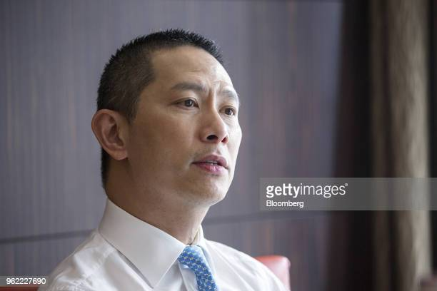 Vincent Chui managing director of Asia wealth management at Morgan Stanley speaks during an interview in Singapore on Wednesday May 23 2018 Morgan...