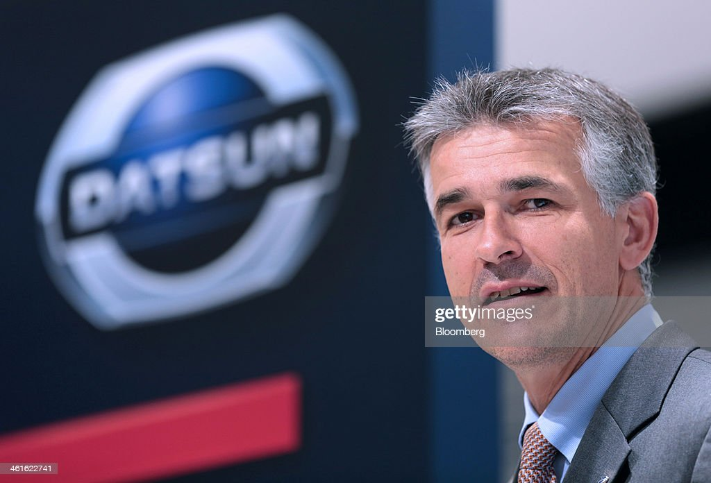 Vincent Cobee, global head for the Datsun brand at Nissan Motor Co., poses for a photograph at the company's showroom in Yokohama, Japan on Wednesday, Jan. 8, 2014. Nissan said its low-end Datsun business will generate operating margins of as high as 7 percent because of its no-frills designs and by sharing the parents development facilities and distribution network. Photographer: Yuriko Nakao/Bloomberg via Getty Images