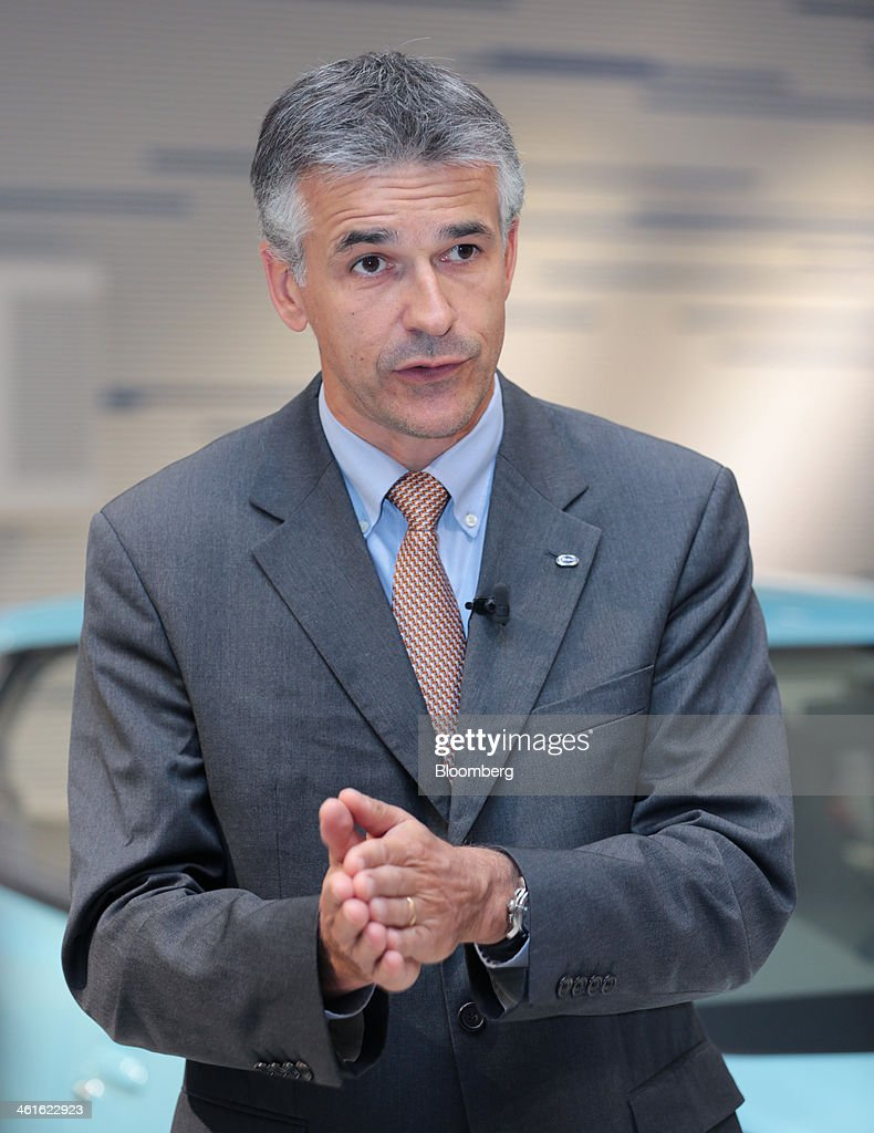 Vincent Cobee, global head for the Datsun brand at Nissan Motor Co., speaks during an interview at the company's showroom in Yokohama, Japan on Wednesday, Jan. 8, 2014. Nissan said its low-end Datsun business will generate operating margins of as high as 7 percent because of its no-frills designs and by sharing the parents development facilities and distribution network. Photographer: Yuriko Nakao/Bloomberg via Getty Images