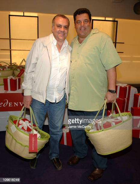 Vincent Curatola and Steve Schirripa during Red Envelope Hero Lounge at The Elizabeth Glaser Kids for Kids Carnival at Diane Von Furstenberg Studio...