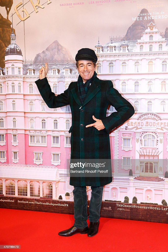 Vincent Dare attends 'The Grand Budapest Hotel' Paris Premiere at Cinema Gaumont Opera Capucines on February 20, 2014 in Paris, France.