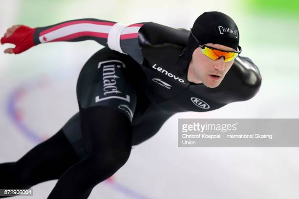 Vincent de Haitre of Canada during the men 1500m Division A race on Day Two during the ISU World Cup Speed Skating at the Thialf on November 11 2017...