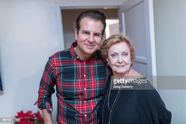 Vincent de Paul and Judith McConnell attend The Bay Ugly Sweater And Secret Santa Christmas Party at Private Residence on December 12 2017 in Los...