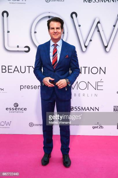 Vincent de Paul attends the GLOW The Beauty Convention on May 13 2017 in Duesseldorf Germany