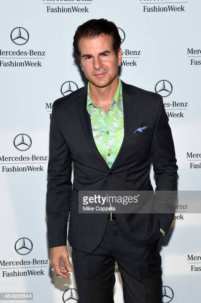 Vincent De Paul attends the MercedesBenz Lounge during MercedesBenz Fashion Week Spring 2015 at Lincoln Center on September 7 2014 in New York City