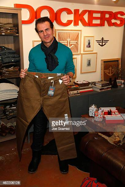 Vincent De Paul attends The Variety Studio At Sundance Presented By Dockers on January 25 2015 in Park City Utah