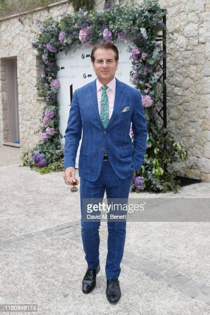 Vincent de Paul attends the Wellbeing Summer Lunch featuring a preview of the new Spring/Summer collection from LeGer by Lena Gercke x About You...