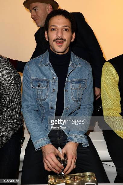 Vincent Dedienne attends the Agnes B Menswear Fall/Winter 20182019 show as part of Paris Fashion Week on January 21 2018 in Paris France