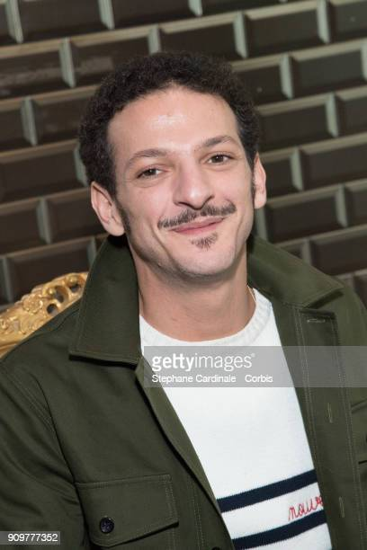 Vincent Dedienne attends the Jean Paul Gaultier Haute Couture Spring Summer 2018 show as part of Paris Fashion Week January 24 2018 in Paris France