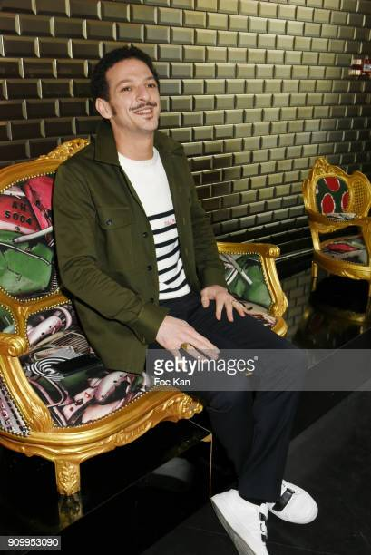 Vincent Dedienne attends the JeanPaul Gaultier Haute Couture Spring Summer 2018 show as part of Paris Fashion Week on January 24 2018 in Paris France