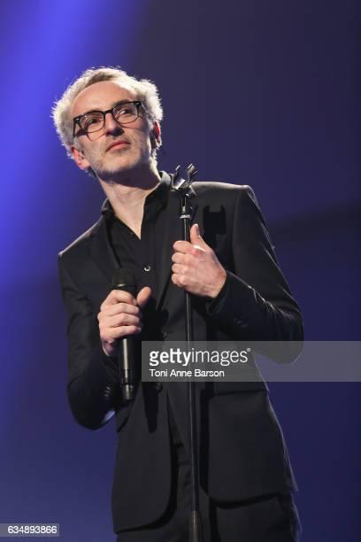 Vincent Delerm performs during the '32nd Victoires de la Musique 2017' at Le Zenith on February 10 2017 in Paris France