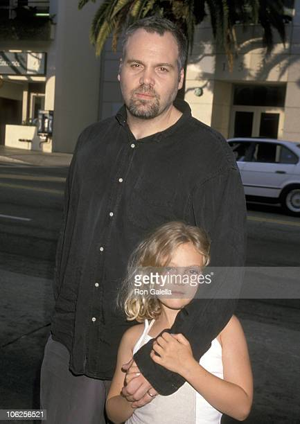 Vincent D'Onofrio and daughter Leila D'Onofrio during Steal This Movie Santa Monica Premiere at Laemmle Monica in Santa Monica California United...