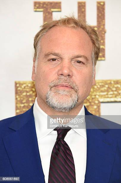 Vincent D'Onofrio attends The Magnificent Seven premiere at Museum of Modern Art on September 19 2016 in New York City