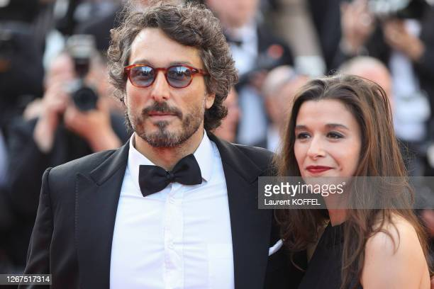 "Vincent Elbaz and Fanny Conquy attend the closing ceremony screening of ""The Specials"" during the 72nd annual Cannes Film Festival on May 25, 2019 in..."