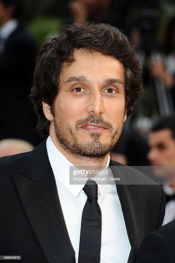 Vincent Elbaz at the Premiere for 'You will meet a tall dark stranger' during the 63rd Cannes International Film Festival.