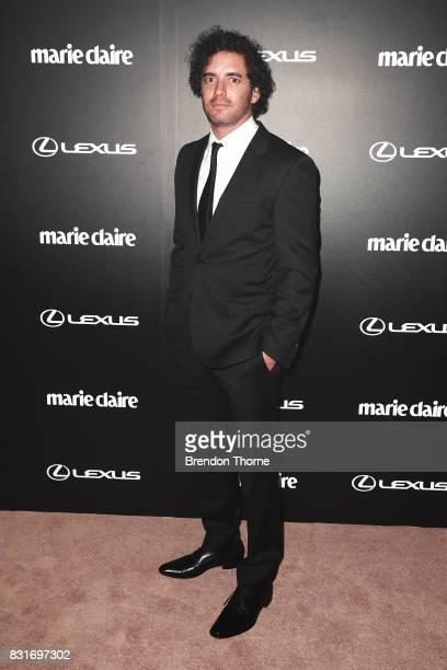 Vincent Fantauzzo arrives ahead of the 2017 Prix de Marie Claire Awards on August 15, 2017 in Sydney, Australia.