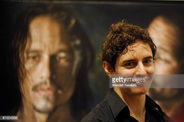 Vincent Fantauzzo is announced as the winner of the People's Choice Award for the 2008 Archibald Prize at the Art Gallery of New South Wales on May...
