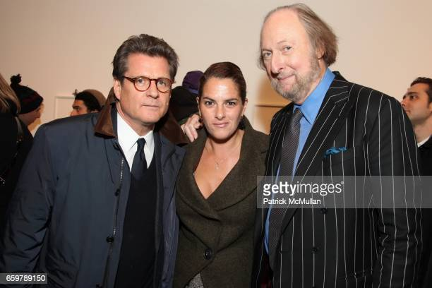 Vincent Fremont Tracy Emin and Ed Victor attend Lehmann Maupin Gallery TRACEY EMIN Opening and Party at Wallse at Lehmann Maupin Gallery on November...