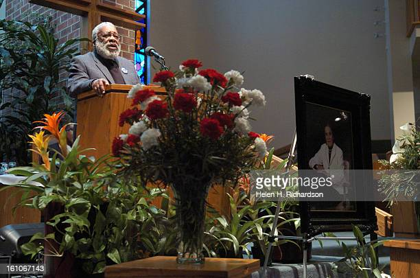 Vincent G Harding PhD <cq> Professor Emeritus of Religion and Social Transformation at the Iliff School of Theology gave the eulogy at the service A...