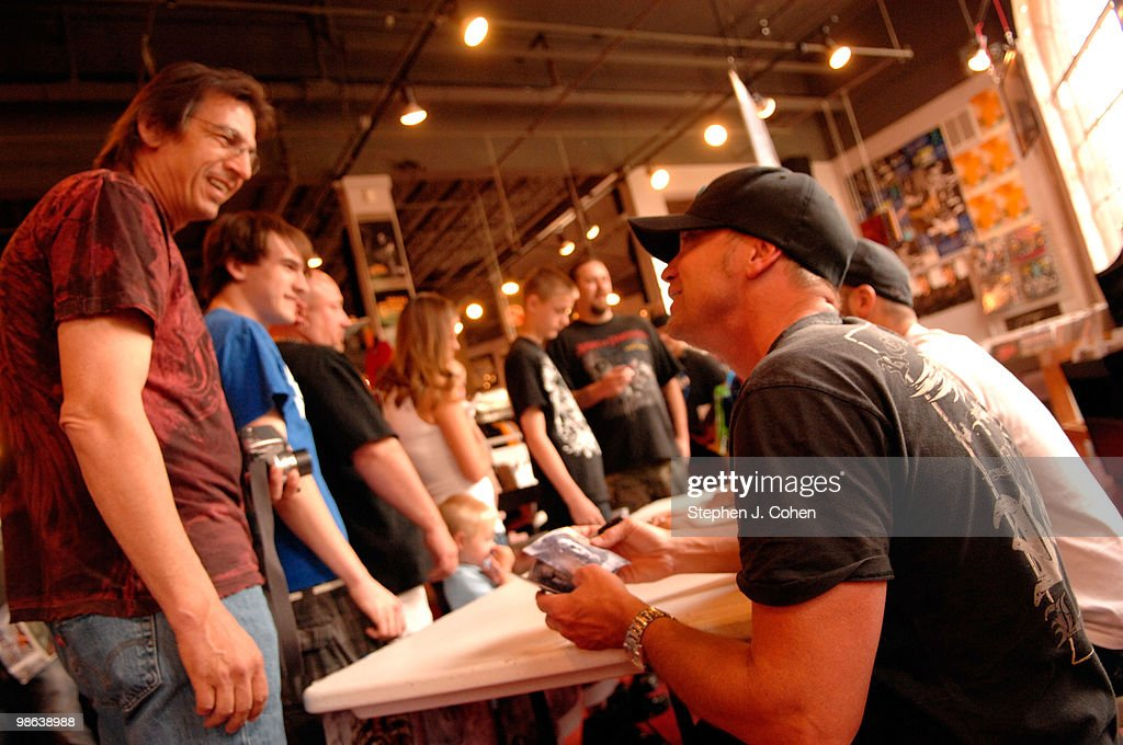 Vincent Hornsby attends the Sevendust signing in-store at Ear-X-Tacy on April 22, 2010 in Louisville, Kentucky.